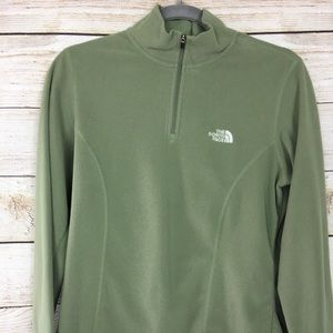 The North Face Fleece Jacket olive green